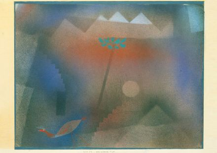 Klee, Paul: Bird Wandering Off. Fine Art Print/Poster (4982)